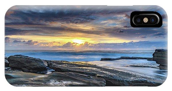 An Atmospheric Coastal Sunrise IPhone Case