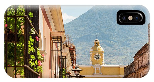 IPhone Case featuring the photograph Antigua Guatemala by Tim Hester