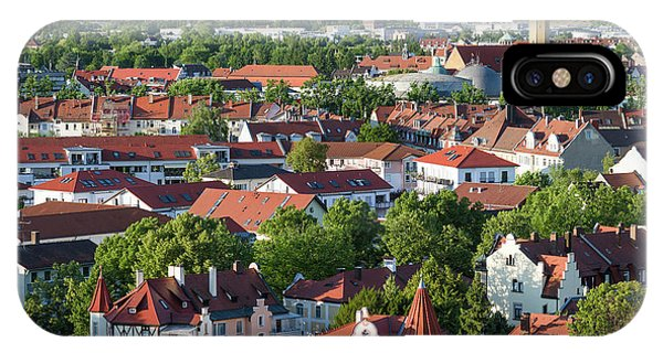 Bamberg In Franconia, A Part Of Bavaria Phone Case by Martin Zwick
