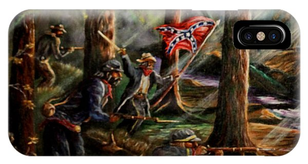 Battle Of Chancellorsville - The Wilderness IPhone Case