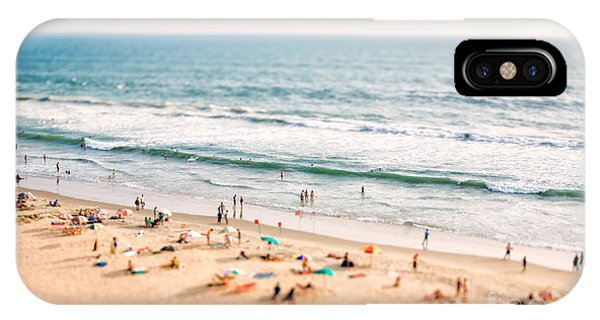 Hotel iPhone Case - Beach On The Indian Ocean. India Tilt by Andrey Armyagov