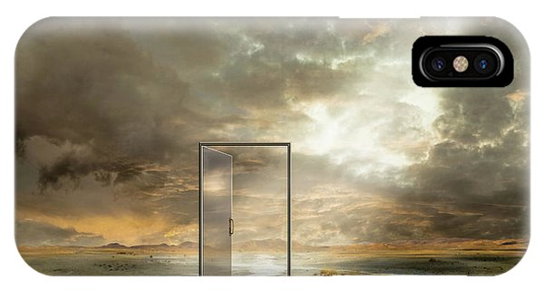 Beam iPhone Case - Behind The Reality by Franziskus Pfleghart