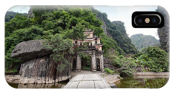 Culture iPhone Case - Bich Dong Pagoda In Ninh Binh, Vietnam by Banana Republic Images