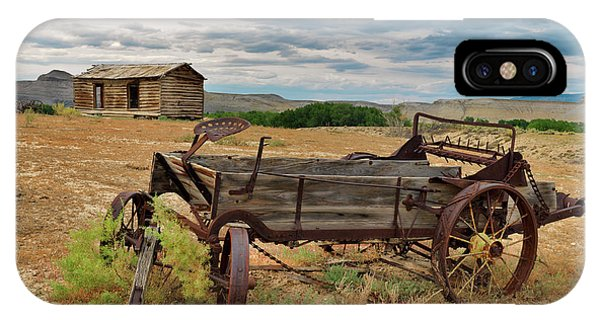 Bighorn Basin History IPhone Case