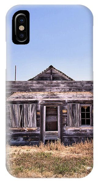Middle Of Nowhere iPhone Case - Boarded Up by Jeff Swan