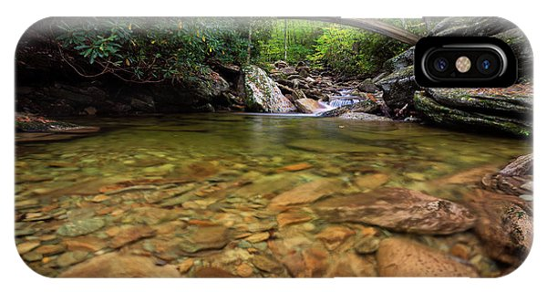Boone Fork Bridge - Blue Ridge Parkway - North Carolina IPhone Case