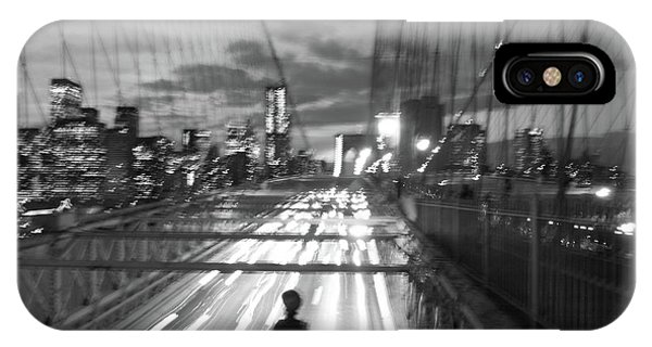 IPhone Case featuring the photograph Brooklyn Bridge by Edward Lee