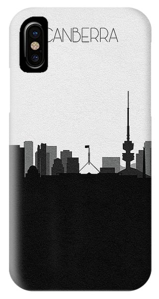 Canberra iPhone Case - Brussels Cityscape Art by Inspirowl Design