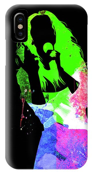 Print iPhone Case - Celine Watercolor by Naxart Studio