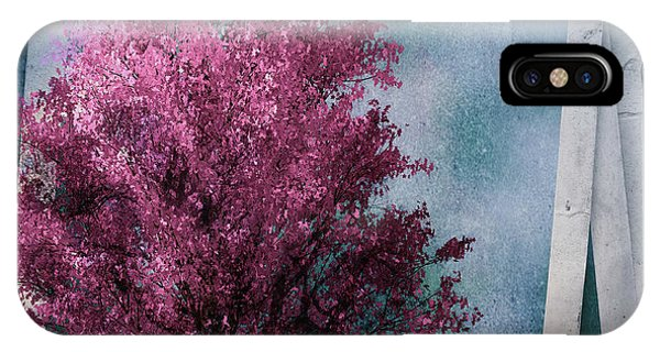 Leave iPhone Case - Cherry Tree by Tim Palmer