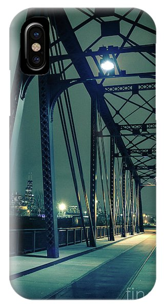 Building iPhone Case - Chicago Railroad Bridge by Bruno Passigatti
