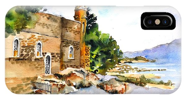 Church Of Primacy, Galilee IPhone Case