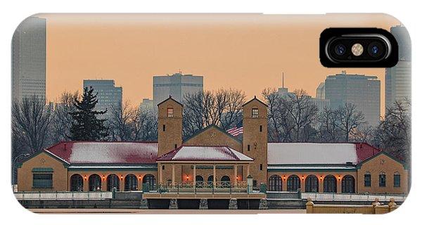 City Park Pavillon IPhone Case