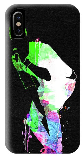Coldplay iPhone Case - Coldplay Watercolor by Naxart Studio