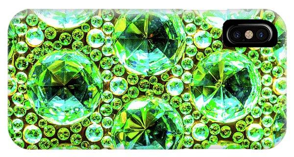 Cut Glass Beads 2 IPhone Case