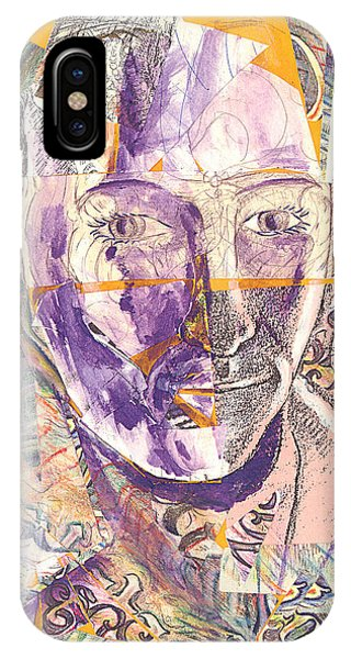 Cut Portrait IPhone Case