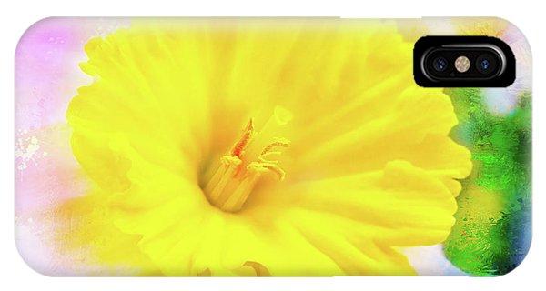 Daffy Daffodil 2 IPhone Case