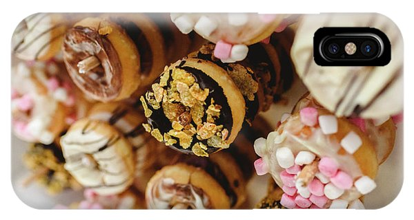 Donuts Of Different Flavors, To Put On An Unhealthy Diet IPhone Case