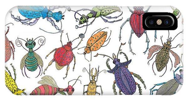 Doodle Bugs IPhone Case