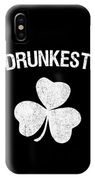St. Patricks Day iPhone Case - Drunkest St Patricks Day Group by Flippin Sweet Gear