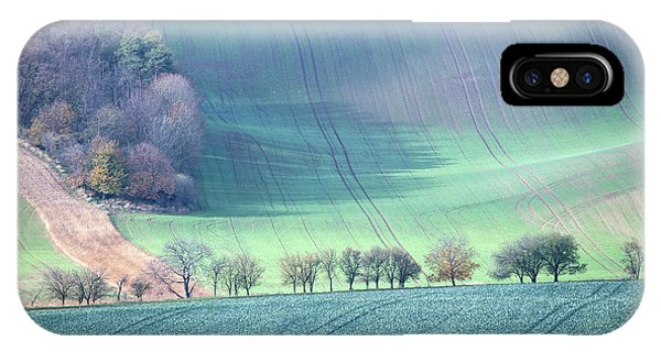 Autumn In South Moravia 1 IPhone Case