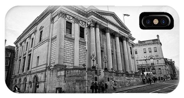 Dublin City Hall Originally The Royal Exchange Dublin Republic Of Ireland Europe Phone Case by Joe Fox