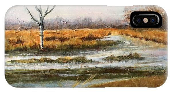 Early Spring On The Marsh IPhone Case