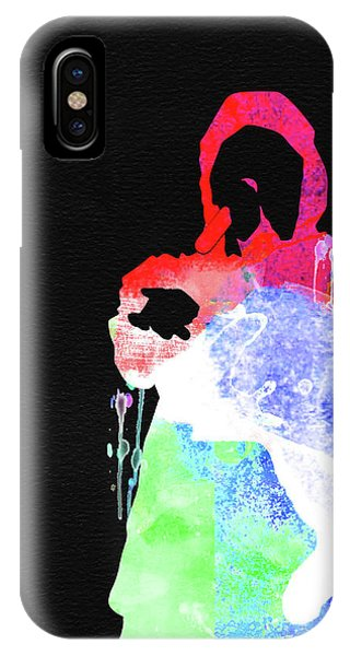 Print iPhone Case - Eminem Watercolor by Naxart Studio