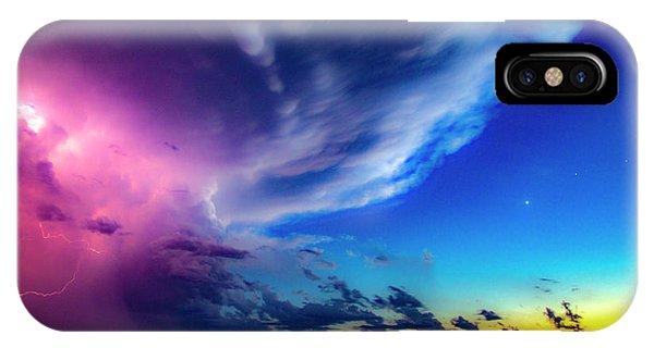 Epic Nebraska Lightning 007 IPhone Case