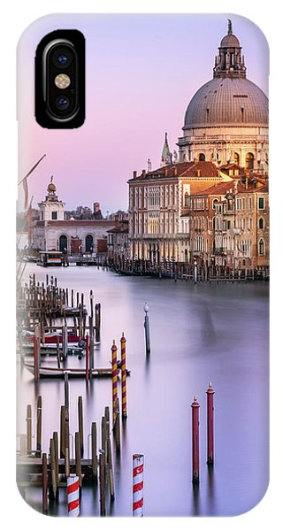 IPhone Case featuring the photograph Evening Light In Venice by Susan Leonard