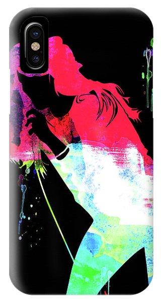 Faith iPhone Case - Faith Hill Watercolor by Naxart Studio