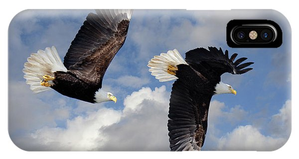 iPhone Case - Fly Like An Eagle by Bob Christopher