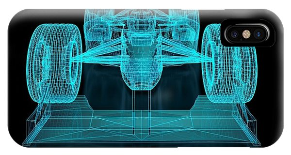 One iPhone Case - Formula One Mesh. Part Of A Series by Nuno Andre