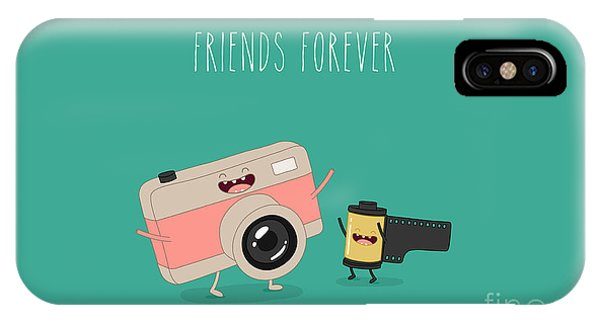 Digital Image iPhone Case - Funny Camera And Camera Roll. Vector by Serbinka