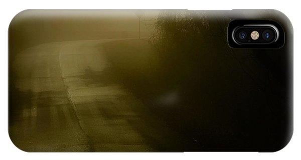 Golden Fog IPhone Case