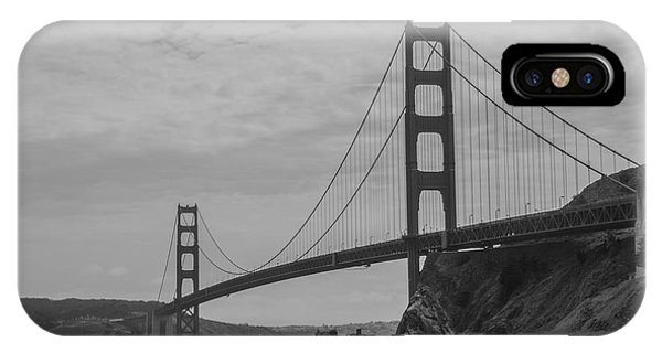 IPhone Case featuring the photograph Golden Gate Bridge by Stuart Manning