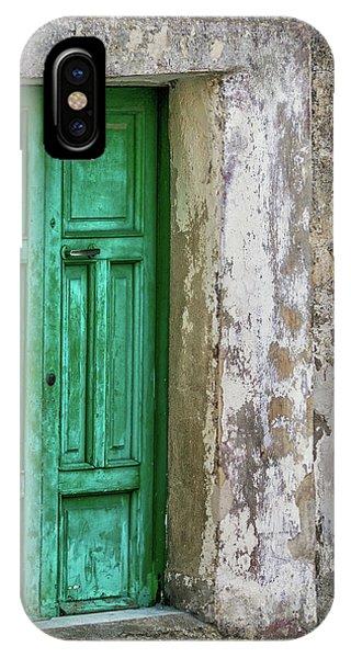 Green Door 2 IPhone Case