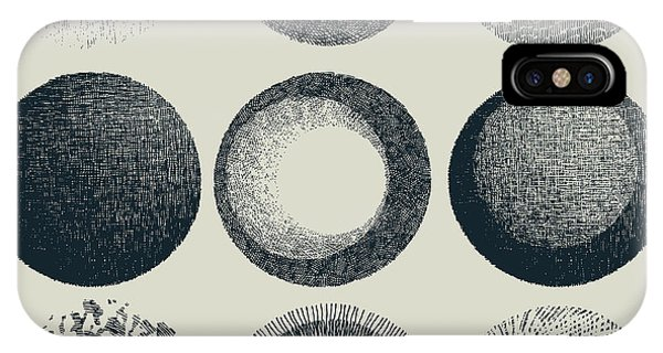Texture iPhone Case - Grunge Halftone Drawing Textures Set by Jumpingsack