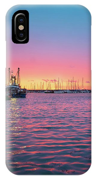 Fishing Boat iPhone Case - Harbour Lights by Smart Aviation