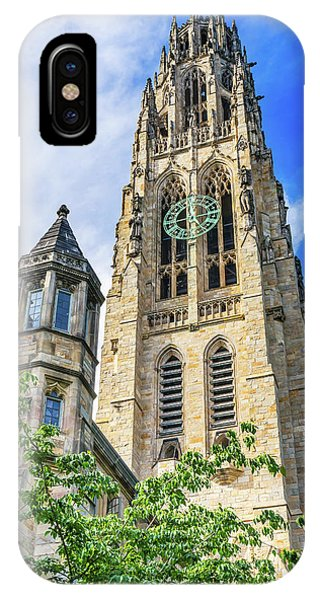 iPhone Case - Harkness Tower, Yale University, New by William Perry