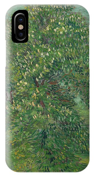 Van Gogh Museum iPhone Case - Horse Chestnut Tree In Blossom by Vincent van Gogh