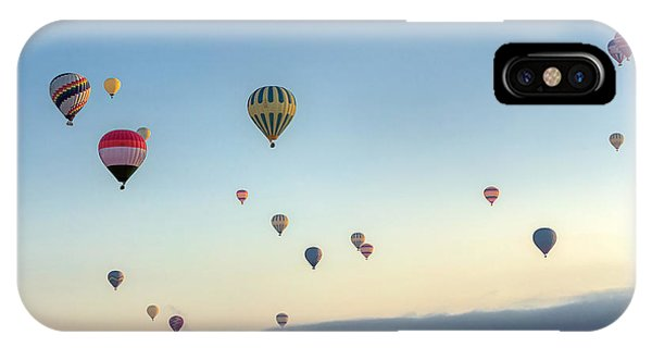 Cappadocia iPhone Case - Hot Air Balloons Atmosphere Ballons by Vadim Petrakov