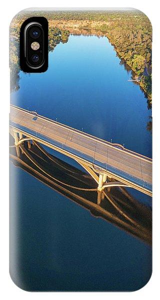 Lake Natoma Crossing IPhone Case