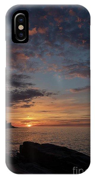 Lake Superior Sunset IPhone Case
