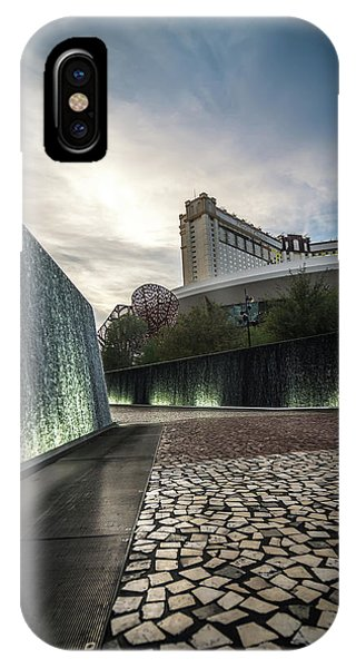 IPhone Case featuring the photograph Las Vegas Nevada City Scenery On Sunny Day by Alex Grichenko