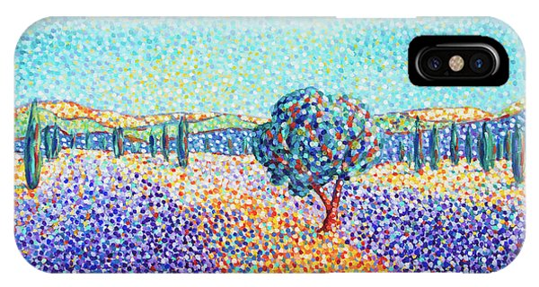 Lavender Field In Provence IPhone Case