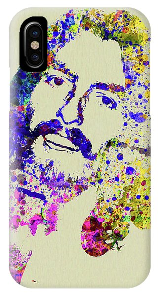 Harrison iPhone Case - Legendary George Harrison Watercolor II by Naxart Studio