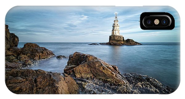 Lighthouse In Ahtopol, Bulgaria IPhone Case