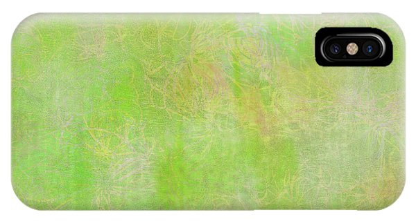 Lime Batik Print IPhone Case