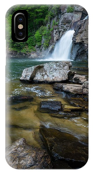 Linville Gorge - Waterfall IPhone Case